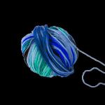 Wollknäuel Netz